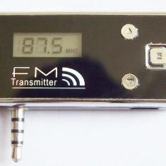 Modulator FM pentru IPhone 4/4s/5/ IPod/ MP3 /all 3.5mm audio, handsfree