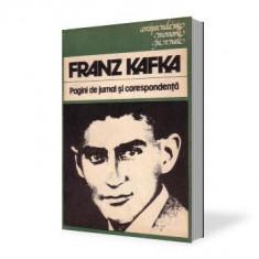 Kafka-Pagini de jurnal -Crespondenta