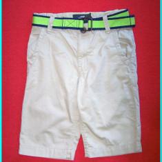 NOI, DE FIRMA _ Pantaloni scurti bumbac, talie reglabila H&M _ baieti | 8-9 ani, Marime: Alta, Culoare: Bej