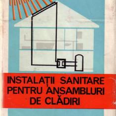 Liviu Dumitrescu-Instalatii sanitare pentru ansambluri de cladiri