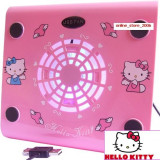 COOLER HELLO KITTY PENTRU NOTEBOOK.