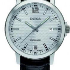 Doxa 203.10.023.01 - Ceas barbatesc Doxa, Elegant, Mecanic-Automatic, Inox, Piele, Data