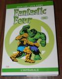 RARITATE BD Comics stan lee, jack kirby - FANTASTIC FOUR L INTEGRALE . integrala 1964 benzi desenate Marvel Panini  CEI PATRU FANTASTICI