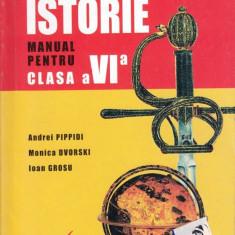 ISTORIE - MANUAL PT CLS A VI A de ANDREI PIPPIDI ED. CORINT - Manual scolar corint, Clasa 6