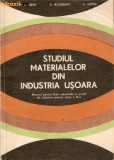 Studiul materialelor din industria usoara