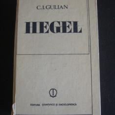 C. I. GULIAN - HEGEL {1981}