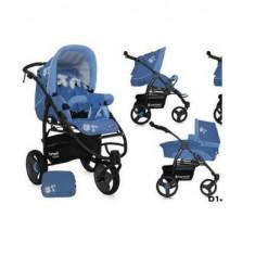 Carucior Bertoni Atlanta landou si sport - Carucior copii 2 in 1 Bertoni, Pliabil, Albastru