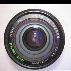 "Zoom Revuenon 3, 5-4, 5/28-50 baioneta""K"" Pentax - Obiectiv DSLR Pentax, Wide (grandangular), Manual focus, Pentax - K"
