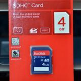 Vand card SanDisk SD 4GB