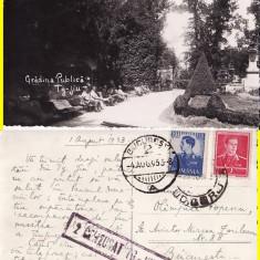 Targu Jiu (Gorj ) - Gradina Publica-cenzura