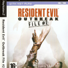 JOC PS2 RESIDENT EVIL OUTBREAK FILE #2 ORIGINAL PAL / STOC REAL / by DARK WADDER - Jocuri PS2 Capcom, Actiune, 16+, Single player