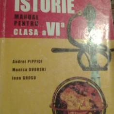 Andrei Pippidi, Monica Dvorski si Ioan Grosu - Istorie manual pentru cls a VI-a - Manual scolar corint, Clasa 6, Corint