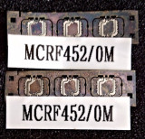 MCRF452/0M contactless read/write passive Radio Frequency Identification (RFID)