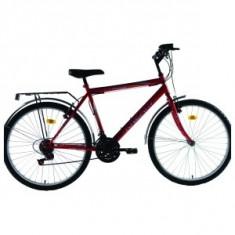 Biciclete dhs - Bicicleta de oras DHS, 19 inch, 22 inch, Numar viteze: 18, Otel, V-brake