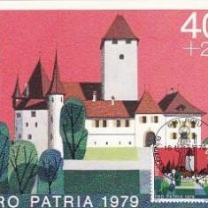 1087 - Elvetia carte maxima 1979