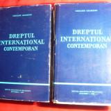 Gr. Geamanu -Dreptul International Contemporan, vol.1 si 2 -1976 - Carte Drept international