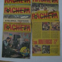 LOT REVISTE COLECTIE RACHETA CUTEZATORILOR ANII 70
