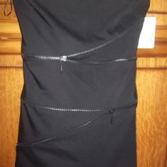 Rochie Zara nou /reducere! - Rochie de club Zara, Culoare: Negru, Marime: M, Negru, M, Midi