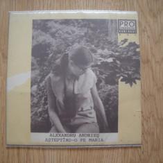 ALEXANDRU ANDRIES:Asteptand-o Pe Maria/Pete Albe(1991)(DOAR COPERTA SINGLE-ULUI) - Muzica Folk, VINIL