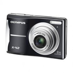 VAND aparat foto digital Olympus X-42 Black - Aparat Foto compact Olympus, Compact, 14 Mpx, 5x, 2.4 inch