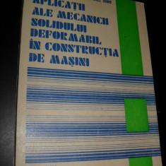 Aplicatii Ale Mecanicii Solidului Deformabil In Constructia D - Lazar Boleantu Ionel Dobre - Carti Inventica