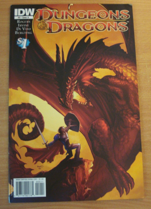 Dungeons and Dragons . IDW Comics