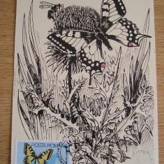 MAXIMA - FAUNA - COADA RINDUNICII - EXPOZITIA FILATELICA NATURA - TIMISOARA 1987, Europa