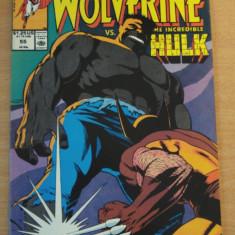 Wolverine Vs. The Hulk #55 . Marvel Comics