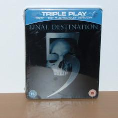 Film Bluray - Final Destination 5 Collector 's Edition ( STEELBOOK ) sigilat - Film actiune, Altele