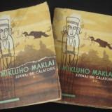 N. N. MIKLUHO MAKLAI - JURNAL DE CALATORIE 2 Volume {1959} - Carte de calatorie