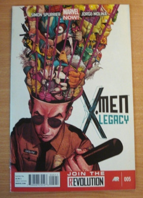 X-Men Legacy #5 . Marvel Comics foto