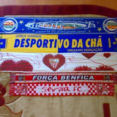 Vand fular / fulare fotbal  ARSENAL DANEMARCA MANCHESTER CITY SEVILLA BENFICA