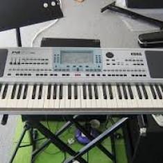 Korg Pa 50 SD impecabila husa, suport si set superb de ritmuri - Orga