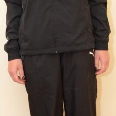 Trening dama Puma V5.08 Woven Suit 65118203, ORIGINAL, poliester, negru/alb, Marime: S