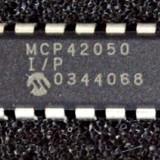 MCP42050 -I/P - MICROCHIP - POTENTIOMETRU DIGITAL, 50K, 2CH, SPI