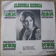 ELEONORA BISORCA disc VINYL SINGLE Muzica Populara electrecord folclor banatean banat, VINIL