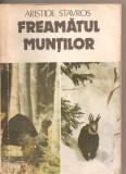 (C3901) FREAMATUL MUNTILOR DE ARISTIDE STAVROS, EDITURA ALBATROS, BUCURESTI,1986