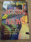 Revista music news edgar surin colectie 10 reviste muzica instrumente 1995/96