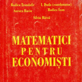 MATEMATICI PENTRU ECONOMISTI de RODICA TRANDAFIR
