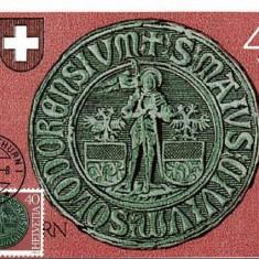 1133 - Elvetia carte maxima 1981