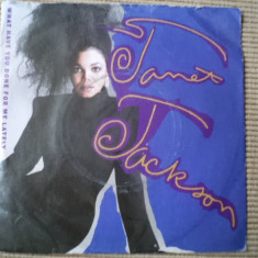 Janet jackson What Have You Done For Me Lately disc vinyl single muzica pop rnb, VINIL