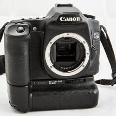 Canon 40d +obiectiv nou canon 18-55/3, 5 + Grip original + 2 baterii - Aparat foto DSLR