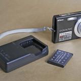 NIKON S200 impecabil, aproape nou, Ultracompact, 8 Mpx, 3x