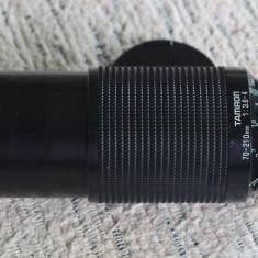 Obiectiv Tamrom 70-210mm MF cu adaptor pt EOS + confirmare focus - Obiective RF (RangeFinder)