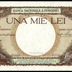 ROMANIA 1000 LEI 1938 UNC - Bancnota romaneasca