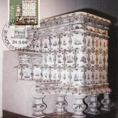 1203 - Elvetia carte maxima 1984