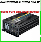 INVERTOR SINUSOIDALA PURA 500 W .DOUA VETILATOARE !