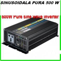 INVERTOR SINUSOIDALA PURA 500 W .DOUA VETILATOARE ! - Invertor curent