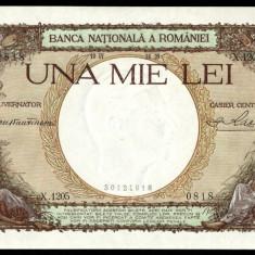 ROMANIA 1000 LEI 1939 UNC - Bancnota romaneasca