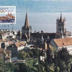 1198 - Elvetia carte maxima 1984